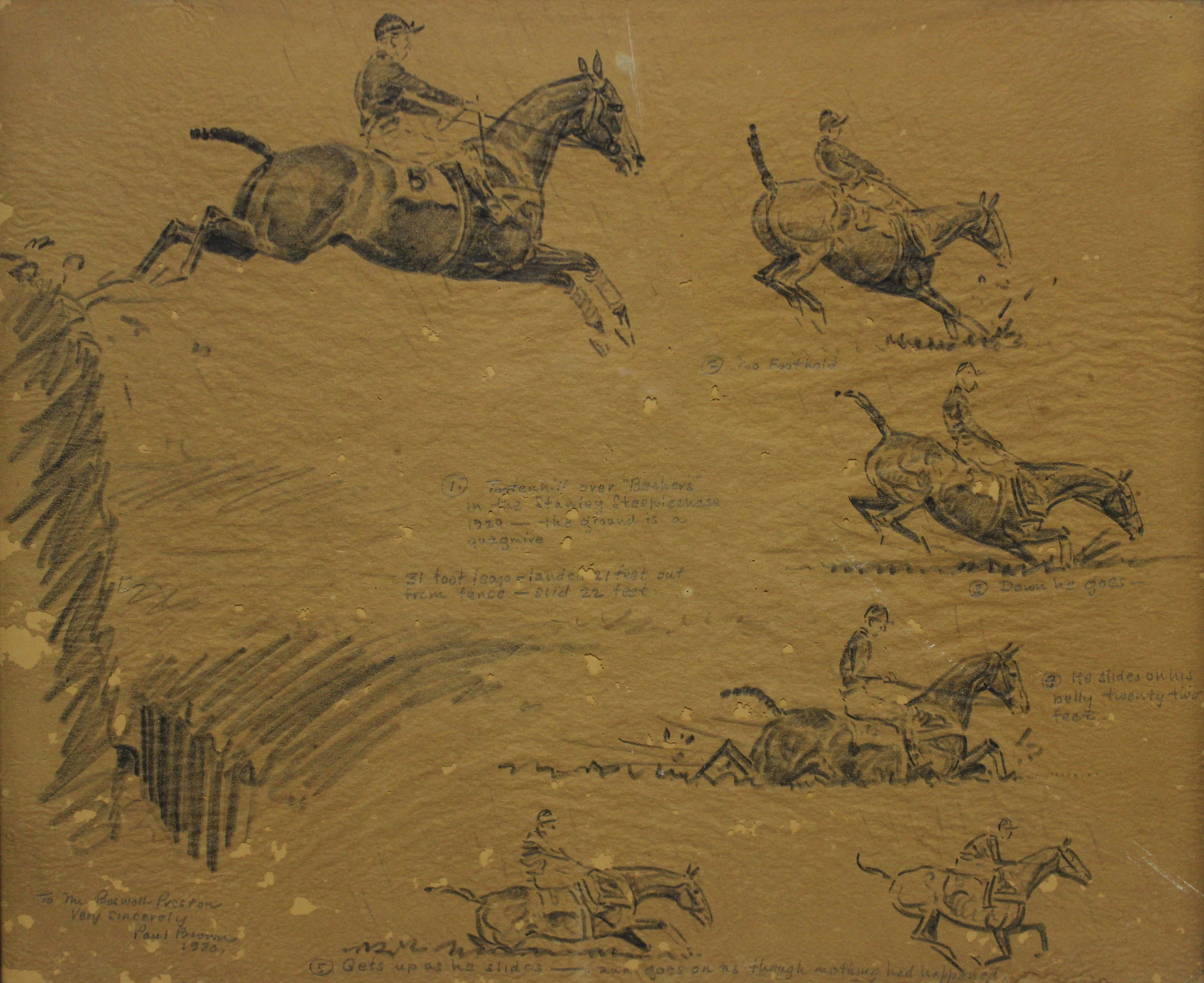 1929 Stanley Steeplechase by Paul Brown